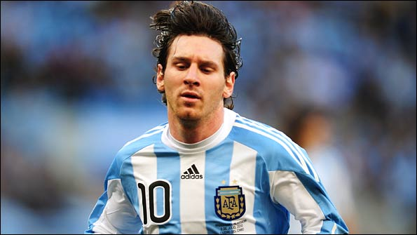 Lionel Messi failed to make a major impact at the 2010 World Cup finals