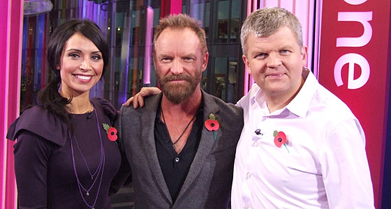 Christine, Sting and Adrian