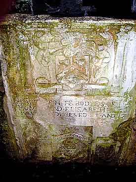 Here lieth the bodies of Thomas and Elizabeth Humphries deceased 1703