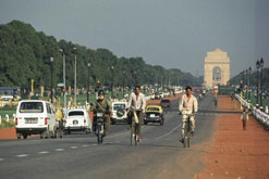 View towards India Gate , New Delhi