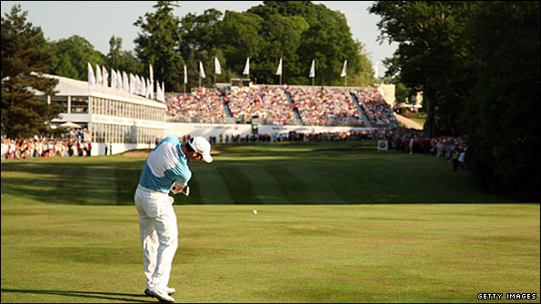 Wentworth will see a new 18th hole