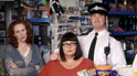 Catherine Tate, Dawn French and Stewart Wright