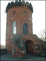 Telford's Laura's Tower at Shrewsbury Castle