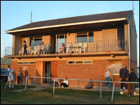 The clubhouse at St. Ouen