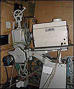 The old projector, formally in screen two