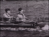 Wartime canoes