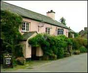 The pub at Lydford