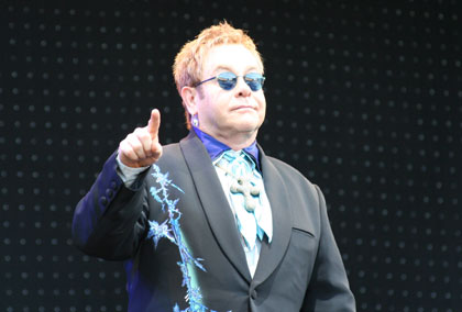 Elton John at the Kassam