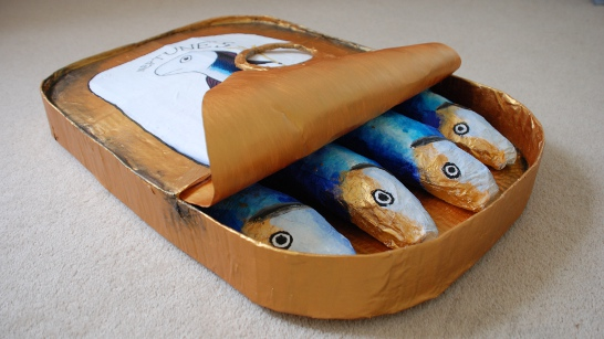 Giant Sardines Tin by Jess