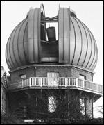The Royal Observatory's 'onion' dome with Cooke's 28-inch telescope