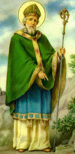 St Patrick the missionary