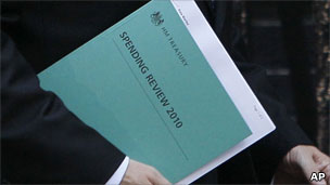 Spending review book