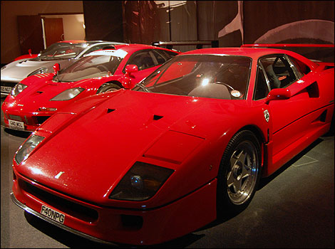 Bbc Somerset In Pictures Super Cars At Haynes Motor Museum