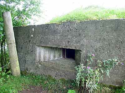 Pill Box at entrance to Scarva House, just outside Scarva village
