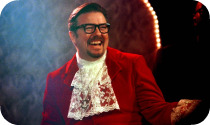 David Brent as Austin Powers