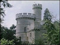 Devizes Castle as seen in the programme