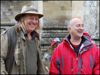 The Time Team's Phil Harding and Tony Robinson