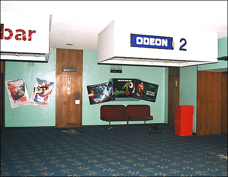 The Odeon - upper lobby and entrance to Odeon 2