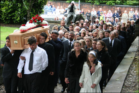 BBC - Stoke & Staffordshire - Features - Photos: Romani funeral