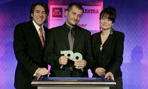 Jonathan Ross, Cristi Puiu and Emily Watson (pictured L-R) BBC Four World Cinema Awards 2007