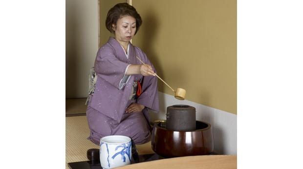 The tea ceremony is a very important ritual in modern Japan. © Trustees of the British Museum