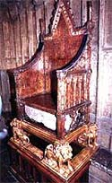 Image of the Coronation chair