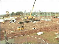 The project in November 2003