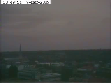 Picture: Live webcam view of Norwich Cathedral taken from the roof of Norfolk Tower.