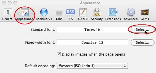 BBC - My Web My Way - Changing fonts in Safari for Mac OS X