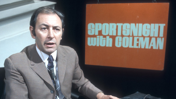 David Coleman on Sportsnight With Coleman in 1969