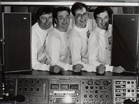 Chris Highton, Graham Seaman, James Harrison and John Kay