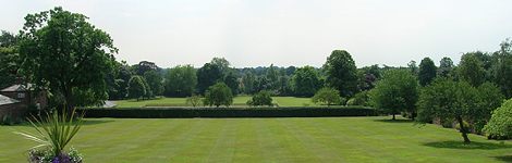 The grounds of The Retreat, York