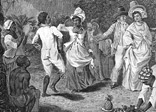This depiction of slaves at a festival appears in Bryan Edwards' 'History of the West Indies'