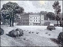 Archive drawing of Earsham Hall