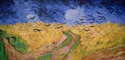 Wheatfield with Crows, by Vincent Van Gogh (1890)