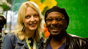 Lauren Laverne & Jimmy Cliff