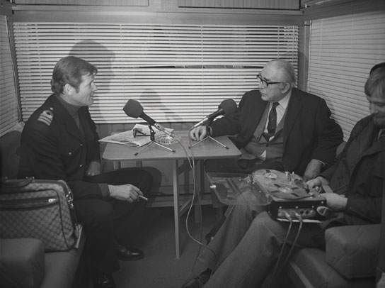 Roger Moore interviewed 1976.