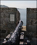Cannon from HMS Boreas