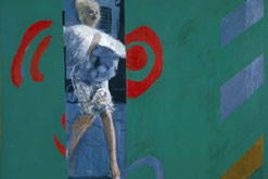Image: Pauline Boty, The Only Blonde in the World (1963), Oil on canvas, Tate. Purchased 1999 © Whitford Fine Art