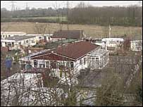a council owned gypsy site