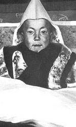 Tenzin Gyatso, 14th Dalai Lama, as a child.