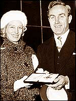 Billy Wright and his wife Joy Beverley