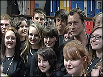 Isle of Wight students