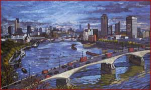 Waterloo Bridge and the City