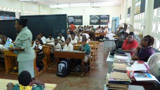 Image of pupils and teachers in Trinidad and Tobago
