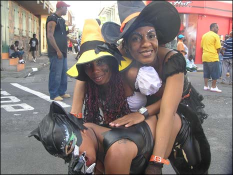 women dressed as witches