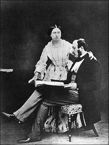 1854 - Queen Victoria and Prince Albert