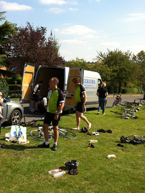 pedal for pudsey day 2 stop