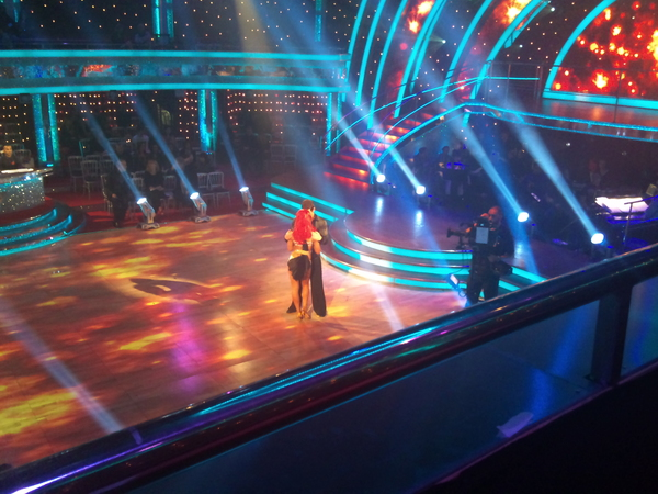 Matt Baker and Aliona Vilani in the Strictly dress rehearsal