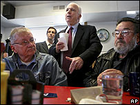 McCain in Iowa in November
